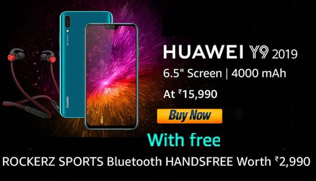 Full 6.5 Screen display, best design makes Huawei Y9 (2019) one of the best phones under Rs 20,000