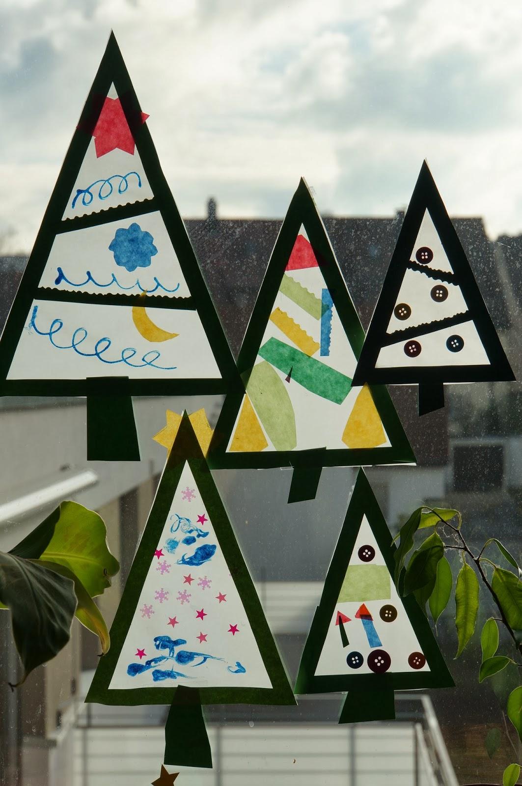 Weihnachtsdeko in kita