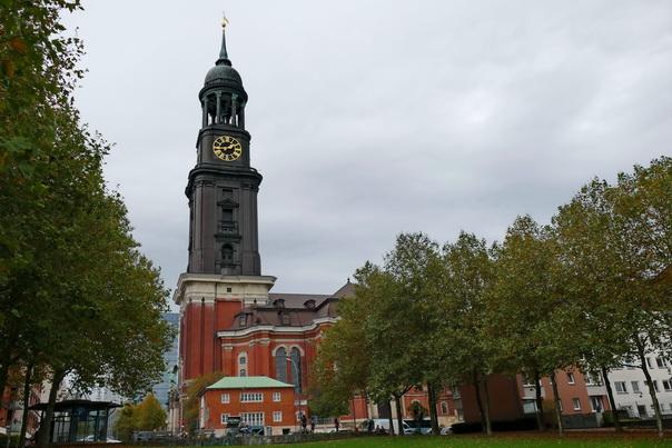 St Michaelis, Kirche, Michel, aussicht, Turm, Hamburg