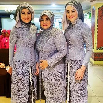 Model Baju Kebaya Muslim Yang Elegan Dan Mewah