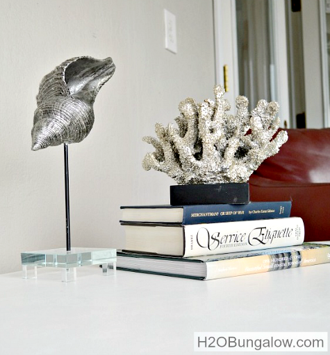 Coral Sculpture on Pedestal Stand