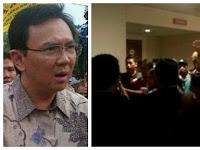 Rusuh! Oknum Panitia Pembekalan Saksi Ahok Usir Wartawan: Hapus Videonya! Jangan Lo Rekam!