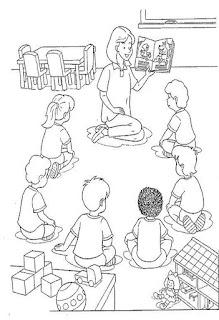 Desenho de sala de aula