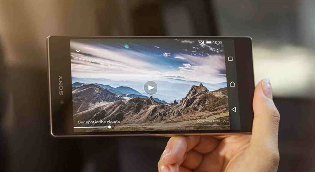 Sony Xperia Z5 Premium with 4K display
