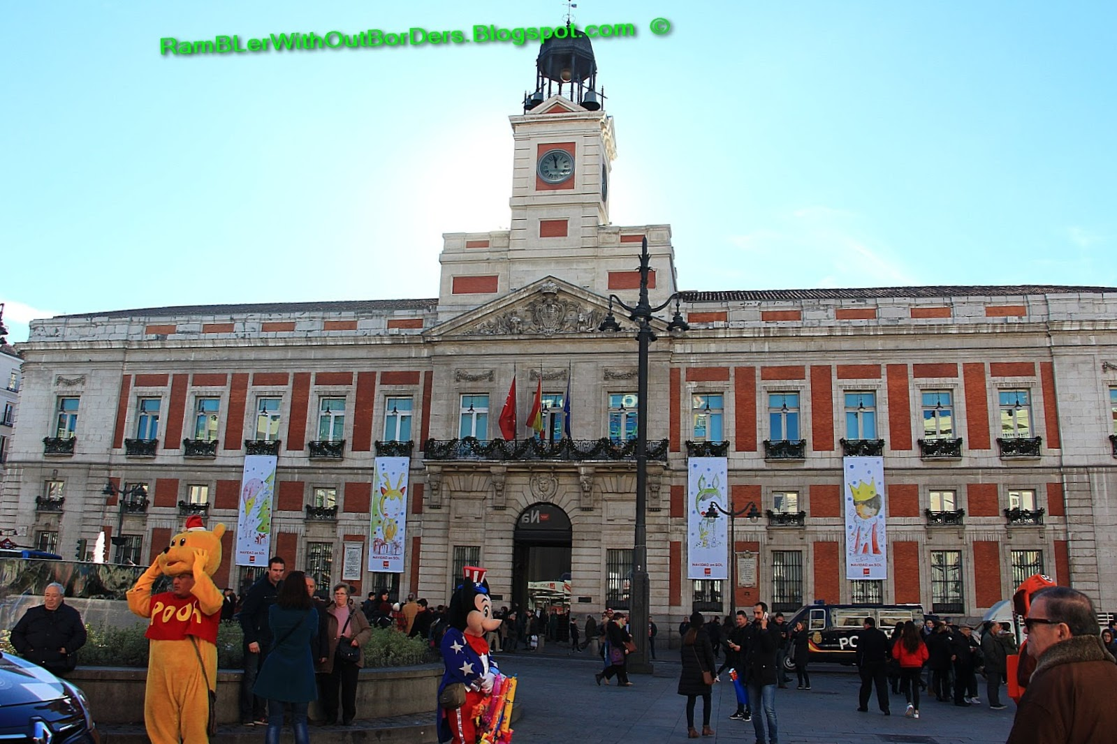 Rambler Without Borders Puerta Del Sol Sun Gate Madrid