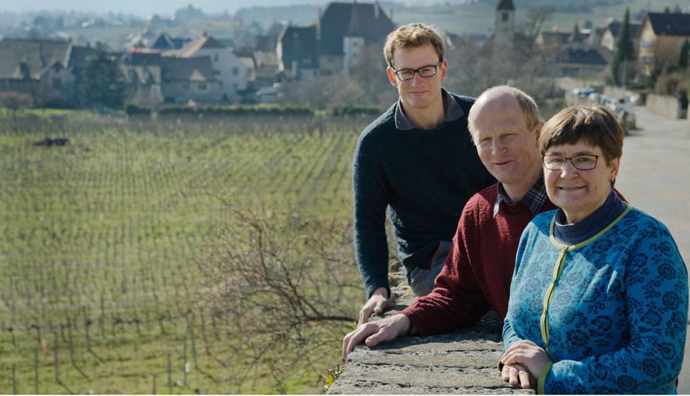 Chez Bio Suisse: «Biowinzer des Jahres», Jean-Denis Perrochet, Domaine de La Maison Carrée