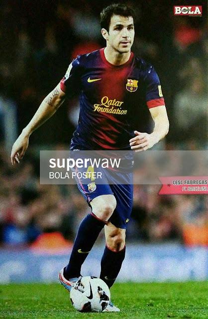 Cesc Fabregas Barcelona 2012