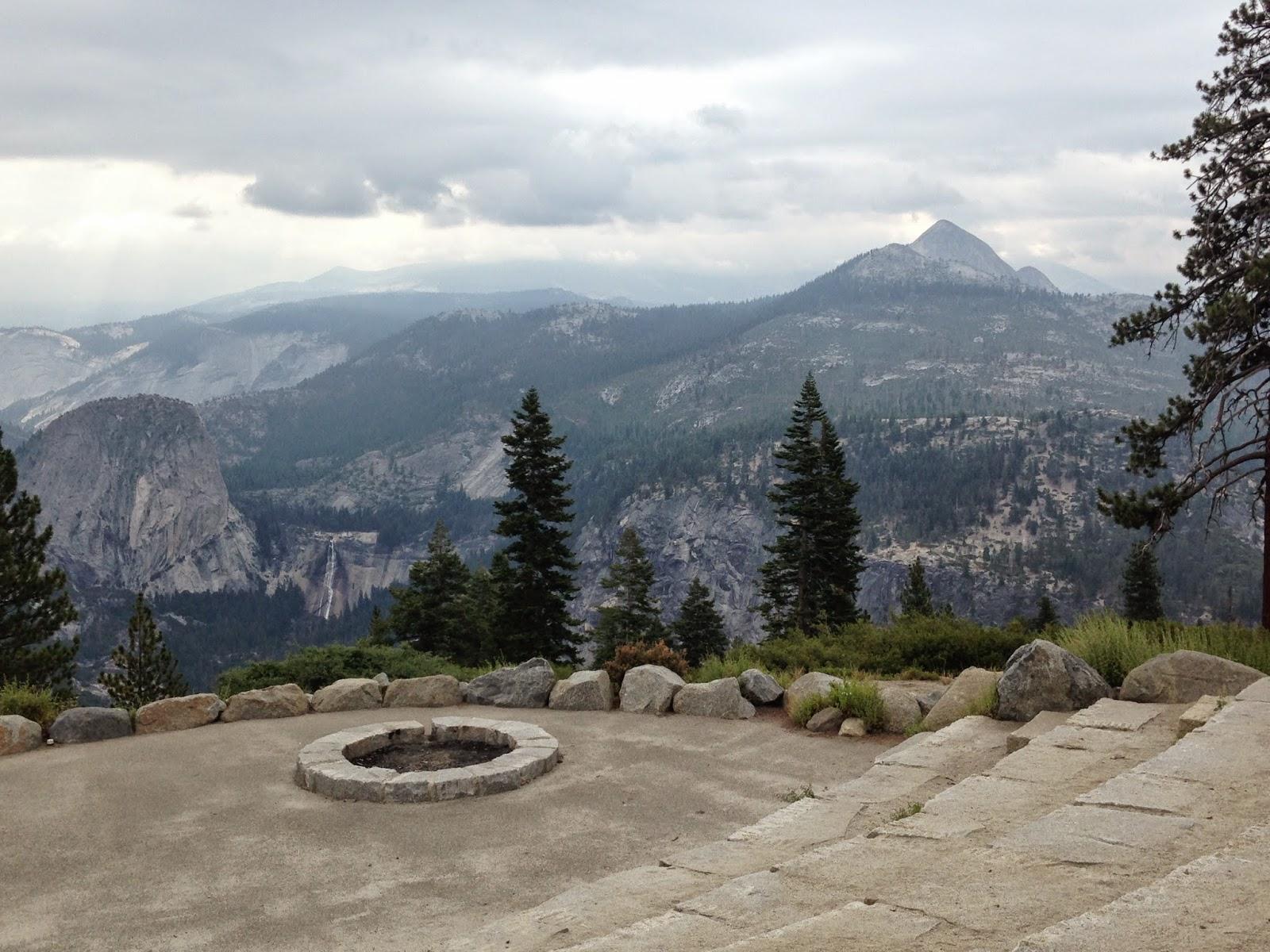 John Muir Trail 2014 Jmt Hiking Day 1 Glacier Point To