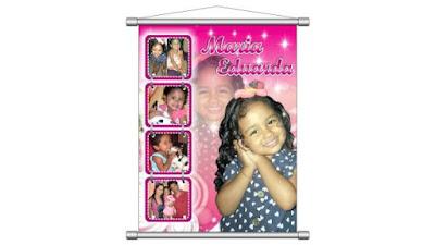 lona banner do aniversario da maria eduarda