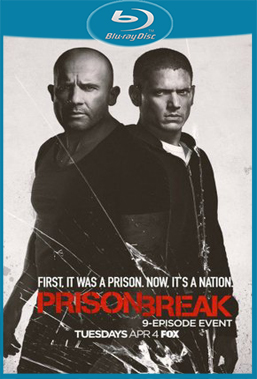 Prison Break 5° Temporada Completa (2017) HDTV 720p Torrent Dual Áudio