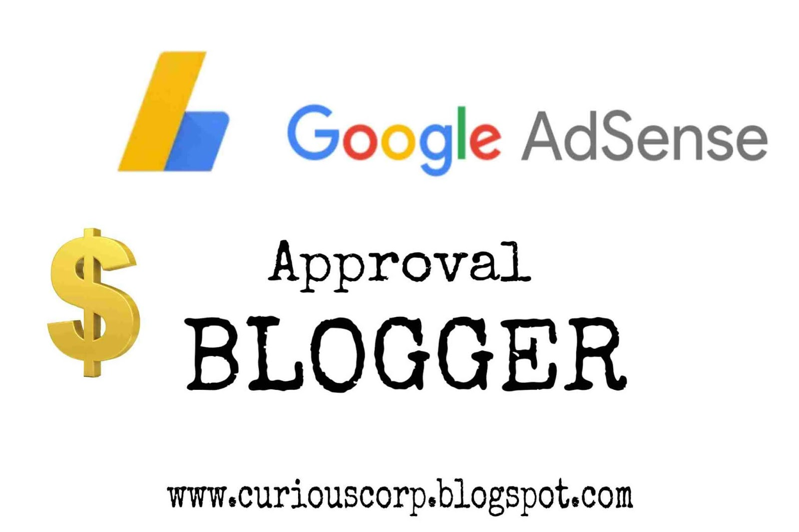 Adsense approval blogger blogspot