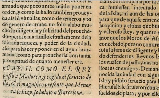 Libro XVIII.   Capítulo primero. Del asiento y poderío de la ciudad de Barcelona.
