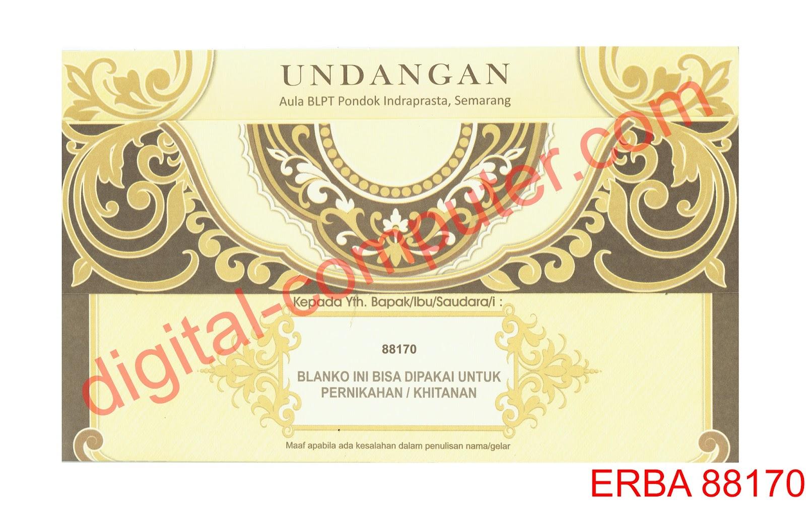kartu undangan pernikahan, Undangan Pernikahan Softcover, undangan pernikahan harga 1000an rupiah