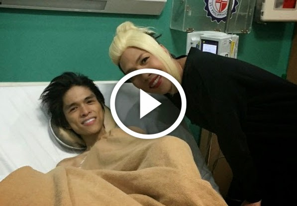 VIDEO: Vice Ganda Visits Jam Sebastian of JaMich - HapeePinay