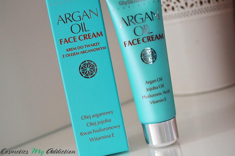 GLYSKINCARE - ARGAN OIL | Krem do twarzy z olejem arganowym