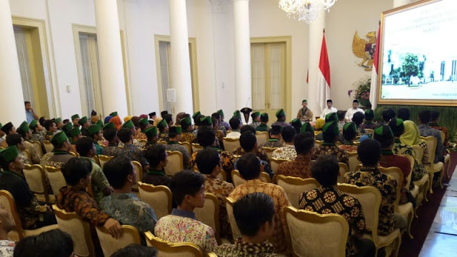 Kader HMI Sampaikan 9 Masukan ke Jokowi: Utang hingga Penegakan Hukum