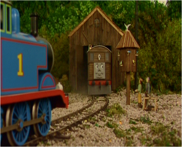 The Thomas And Friends Review Station S10 Ep 12 Toby S New Shed
