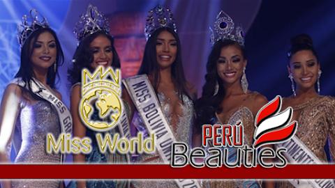 Miss World Bolivia 2018