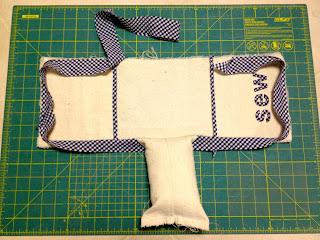 how to make an armrest pincushion