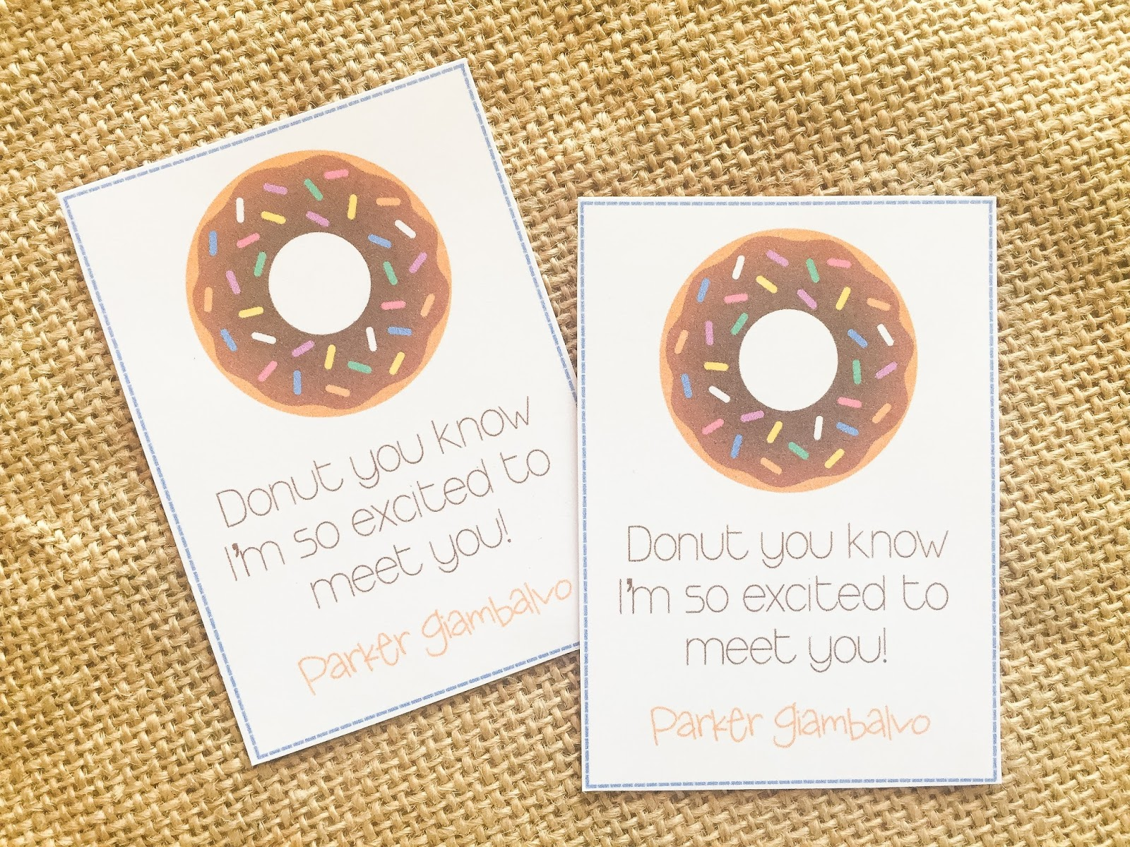 Magnolia Mamas : Teachers Meet & Greet Gifts {Printable}