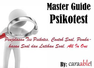 Master guide psioktes lengkap dengan pembahasan, contoh soal, latihan soal, pembahasan materi, pembahasan soal