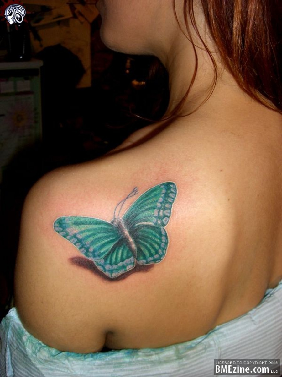 Greatest Tattoos Designs: Butterfly Tattoos for Women