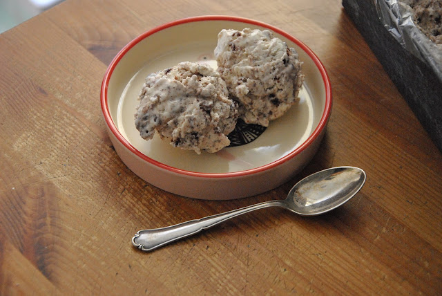 Cookies Eiscreme ohne Eismaschine