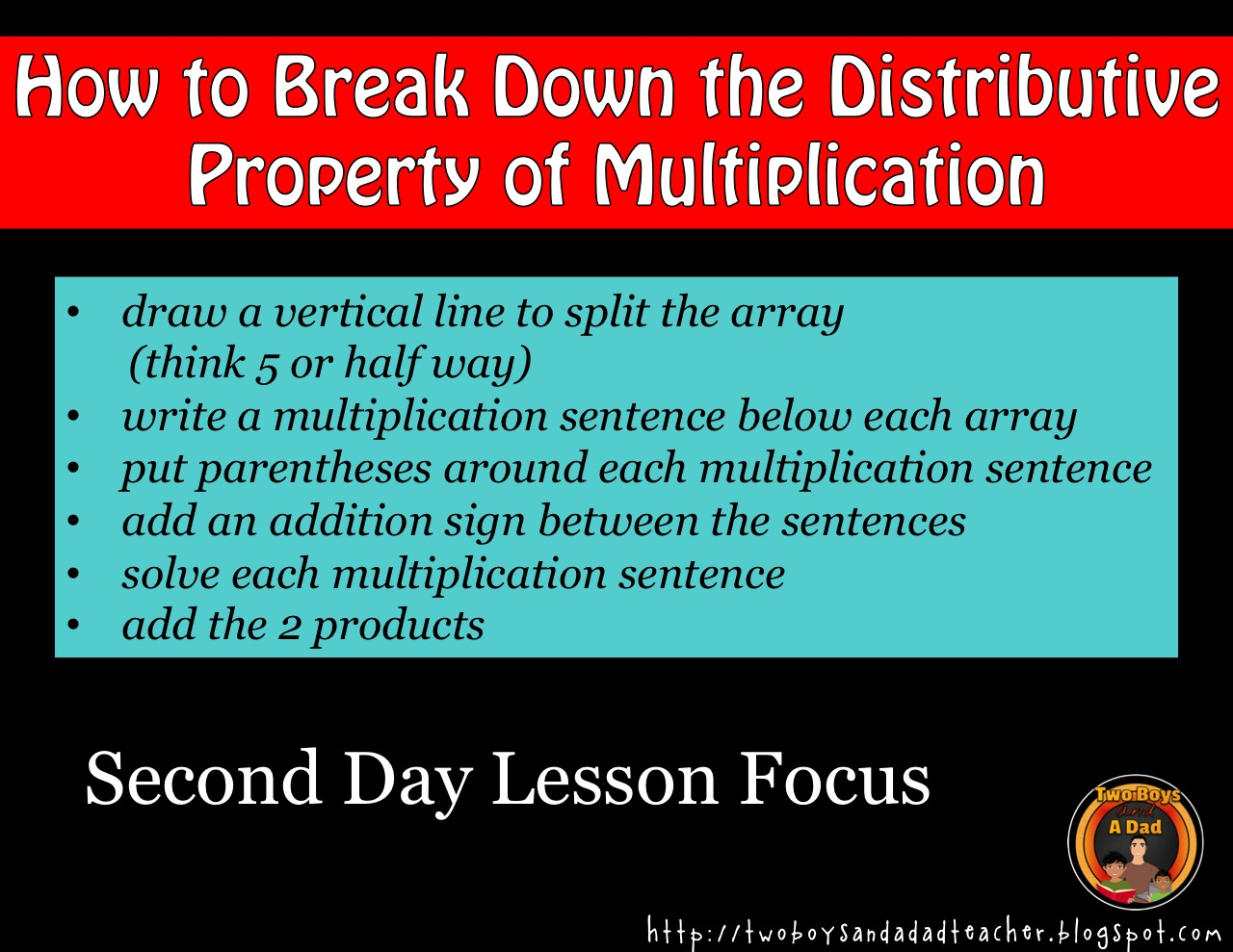 second day lesson focus