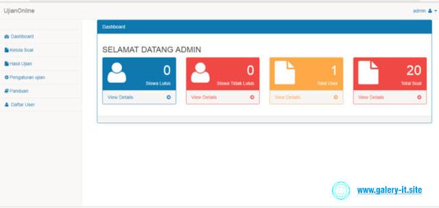 Aplikasi Ujian Online Dengan PHP dan Mysql FREE