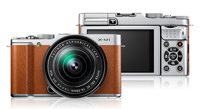 Fujifilm X-M1 brown with XC 16-50mm F3.5-5.6 OIS Lens