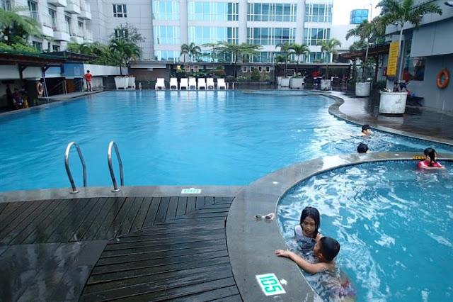 Lebaran di Hotel El Royale (D/H Hotel Grand Royal Panghegar), Bandung