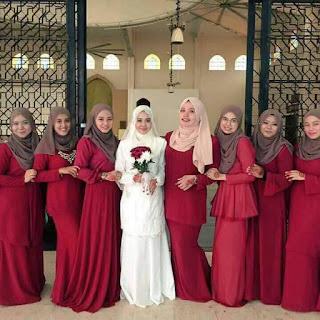 PAKAIAN BRIDESMAID