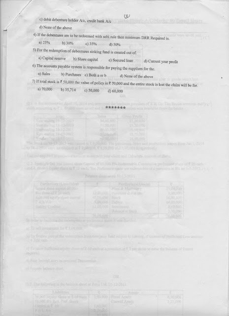 Question Papers Collection: SY Sem IV ATKT Exam, 2014-15