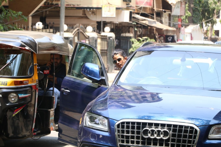 Actress Nimrat Kaur Spotted at Indigo Cafe