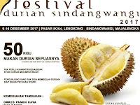 Festival Durian Sindangwangi 2017 Majalengka