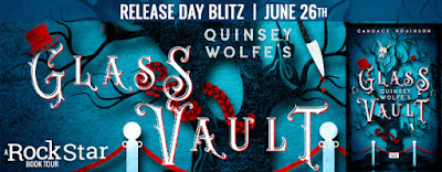 {Excerpt+Giveaway} QUINSEY WOLFE'S GLASS VAULT by Candace Robinson