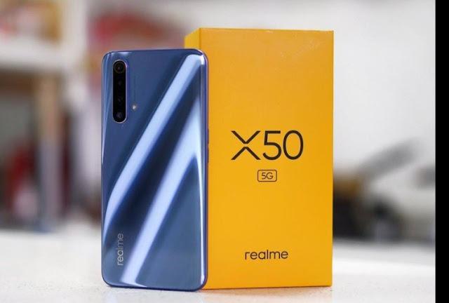 Spek dan harga Realme X50 5G