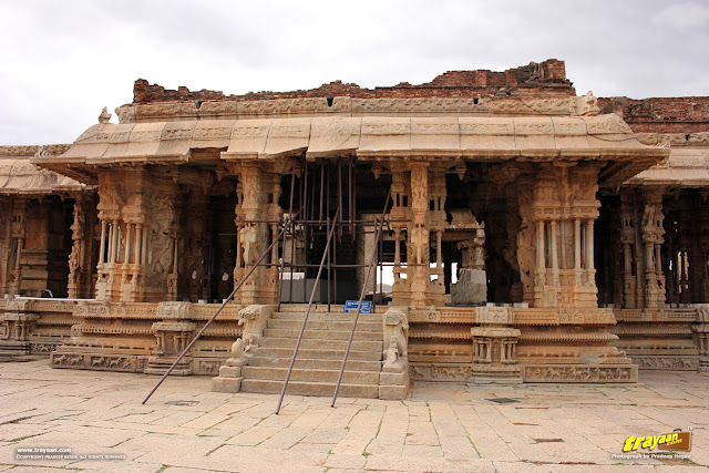 The magnificent Vitthala temple, Hampi