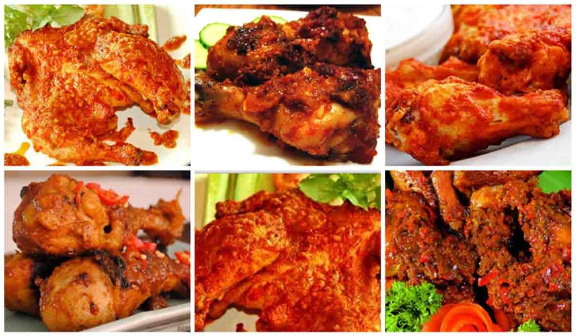 Resep Ayam Bakar Bumbu Rujak Pedas