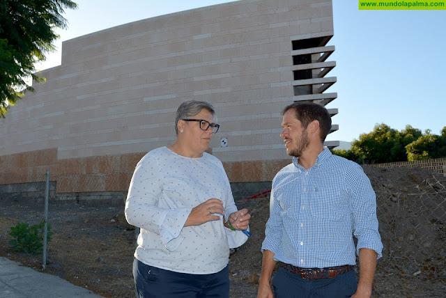 El Cabildo y el Ayuntamiento de Los Llanos de Aridane impulsan la reanudación de las obras del Parque Cultural Islas Canarias