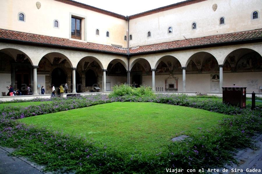 El convento de san marcos de florencia for Jardin del convento