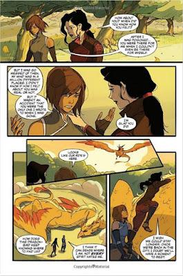 The legend of korra comic book