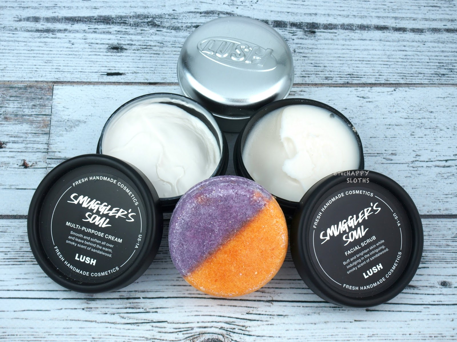 Lush Father's Day 2017 | Smuggler's Soul Multi-Purpose Cream, Facial Scrub & Shampoo Bar