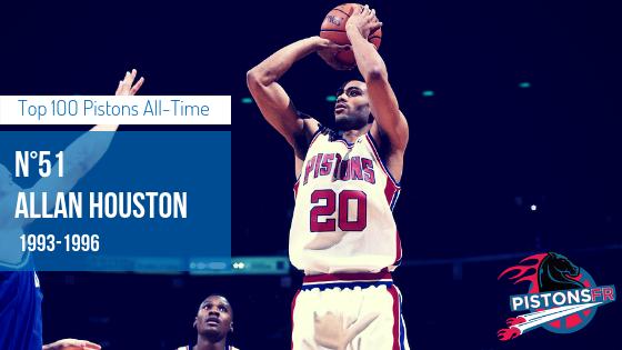 Allan Houston | PistonsFR, actualité des Detroit Pistons en France