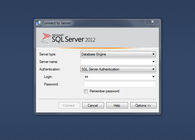 acces natif sql server windev
