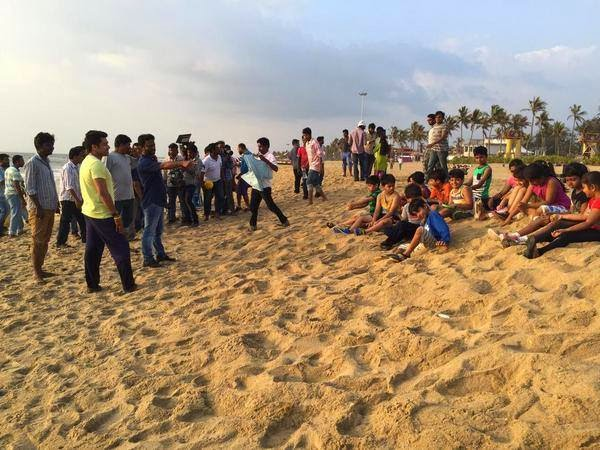 Surya's-Haiku-Movie-Beach-Shooting-Spot-Stills-Download