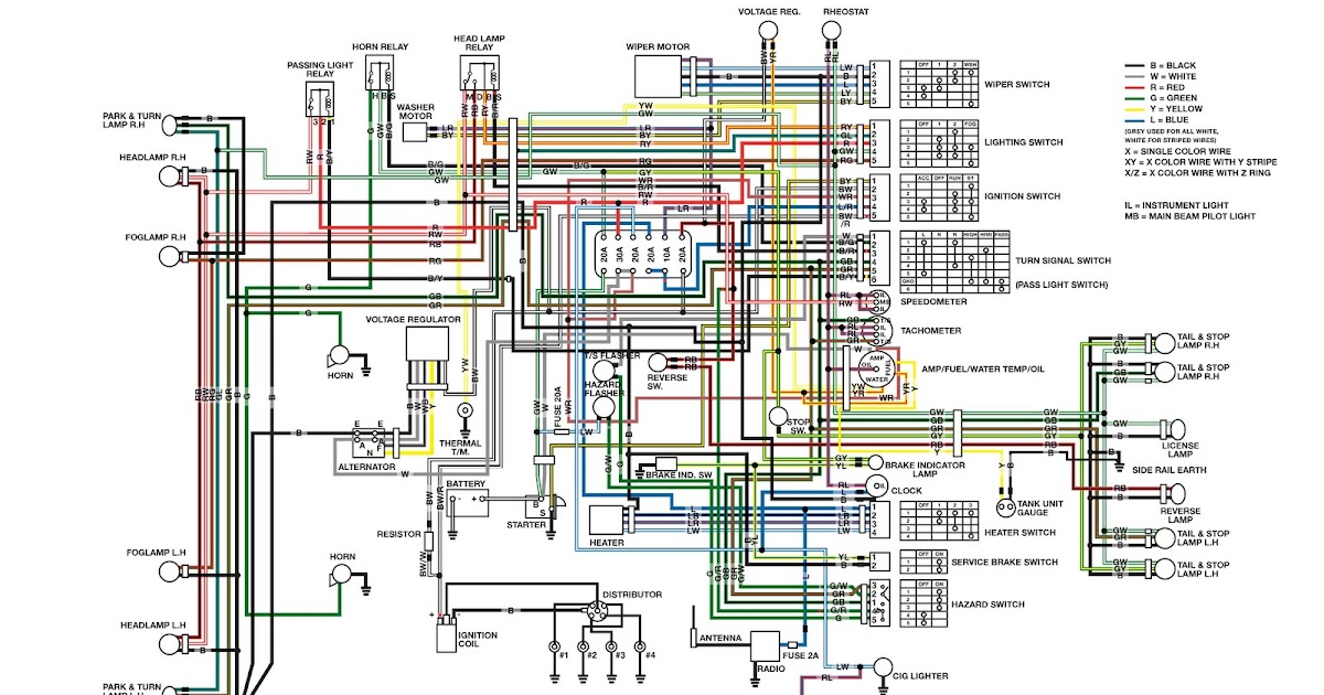 datsun 1200 wiring diagram z3 wiring library diagram rh 7 ktrbg mein custombike de datsun 1200 bakkie wiring diagram datsun 1200 alternator wiring diagram