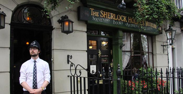 Sherlock Holmes Museum.