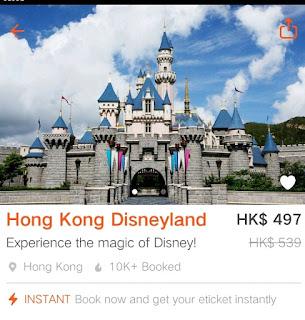 Klook Promo Code, Hong Kong Disneyland Ticket