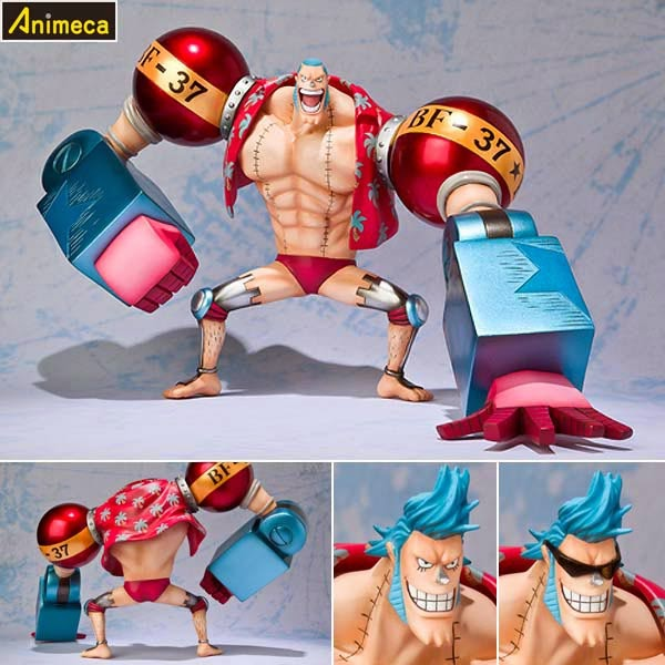 FIGURA FRANKY The New World Arc Ver. Figuarts ZERO ONE PIECE